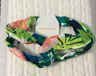 New/Tags Gymboree Girl's 100% Cotton One-Size Adjustable Headband