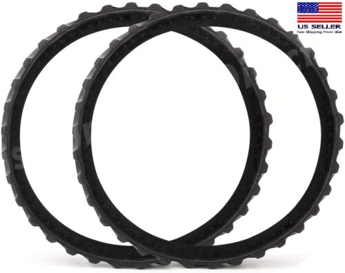 2PK R0526100 Track Replacement Tire Track Wheel for Zodiac MX8/MX6 Pool Cleaning