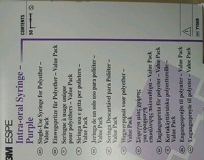 3m Espe Impregum Intra-oral Syringe Purple Dental Impression Box Of 50