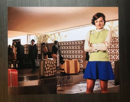 * ELISABETH MOSS * signed autographed 11x14 photo * MAD MEN * 1