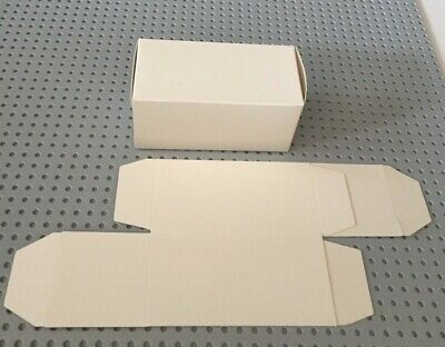Folded White Kraft Paper Cardboard Wedding Candy Jewelry Gift Boxes- 50 Or 200