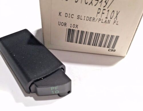 NIKON CD DIC NOSEPIECE SLIDER FOR PF 10X OBJECTIVE FOR MICROSCOPE