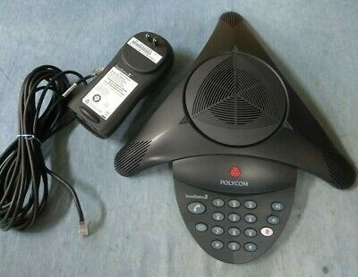 Polycom Soundstation2 Non-expandable Conference Phone 2201-15100-601 Refurb Wrty