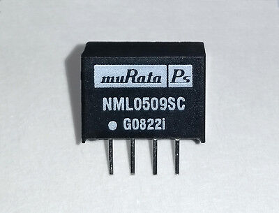 Nml0509sc Isolated Dcdc Converter Module 5v 9v Murata 4-sip Ic Through Hole