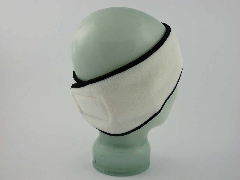 tolles off white Fleecestirnband Fleece Stirnband Modell Nr 20