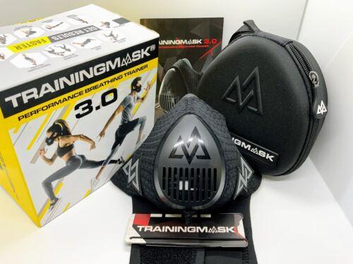 Training Mask Performance Breathing Trainer 3.0 Sports Workout Black Medium