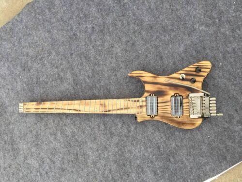 Musoo brand electric travel guitar headless guitar