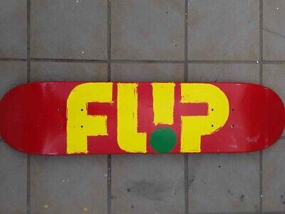 Flip Youth Deck 7.25 Skateboard New Girls Skate New Red Boys Kids Logo Signature