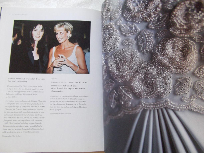 Princess Diana Catherine Walker Fashion Book Numerous Photos Uk Picclick