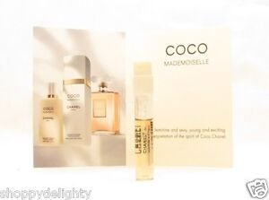Chanel Coco Mademoiselle PERFUME SAMPLE EDP SPRAY VIAL FREE POST AUTHENTIC FRESH