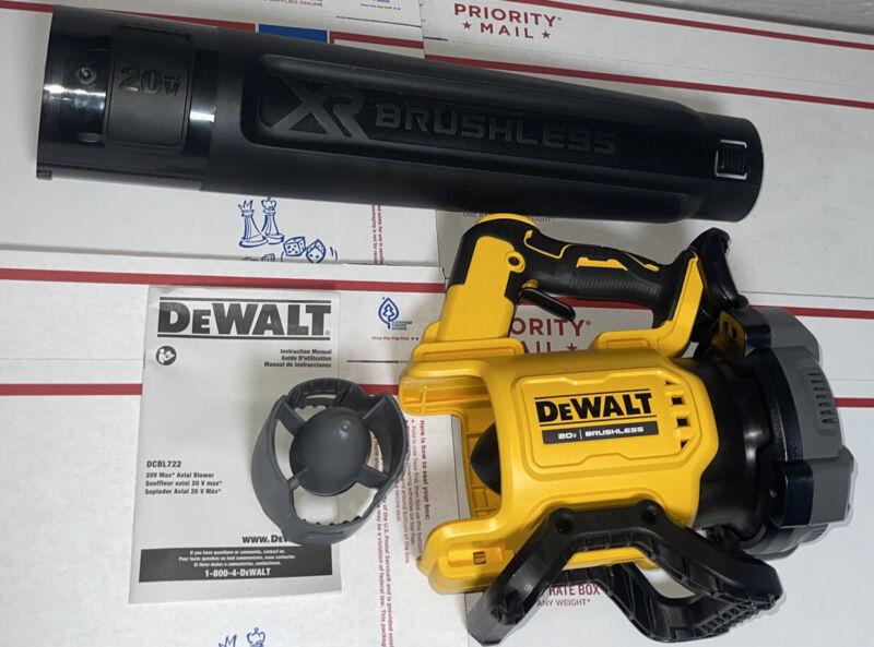 DeWalt 20V Max XR Brushless Leaf Blower Model# DCBL722