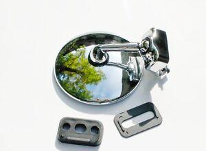 Klemmspiegel - Chromspiegel - Chrome Mirror - specchio - espejo cromo - FIAT