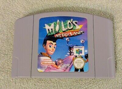 Jeu Milo's Astro Lanes pour Nintendo 64 - Cartouche seule PAL - Milos lane