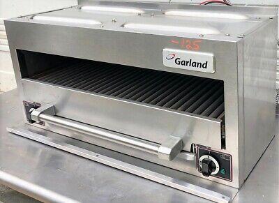 Garland Serc 34 Countertop Salamander Broiler