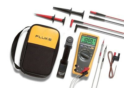 Fluke 179eda2 Electronics Multimeter And Deluxe Accessory Combo Kit