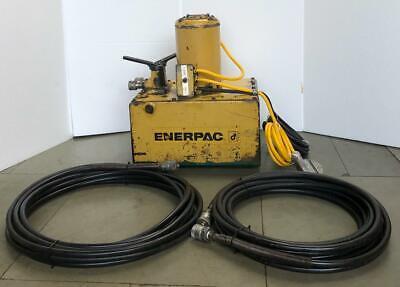 Enerpac Per2222 Electric Hydraulic Pump Power Pack 230v 1 Hp 700 Bar10000 Psi