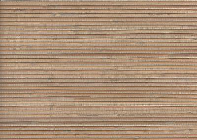 Wallpaper Real Natural Grasscloth Textured Sisal  Bamboo Tan Beige on Taupe Bamboo Grass Cloth Wallpaper