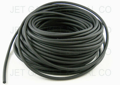 Viton O-ring Cord .375 75 Duro 38 Thick Black Rubber