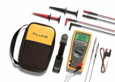 Fluke 179eda2 True Rms Digital Multimeter And Deluxe Accessory Combo Kit