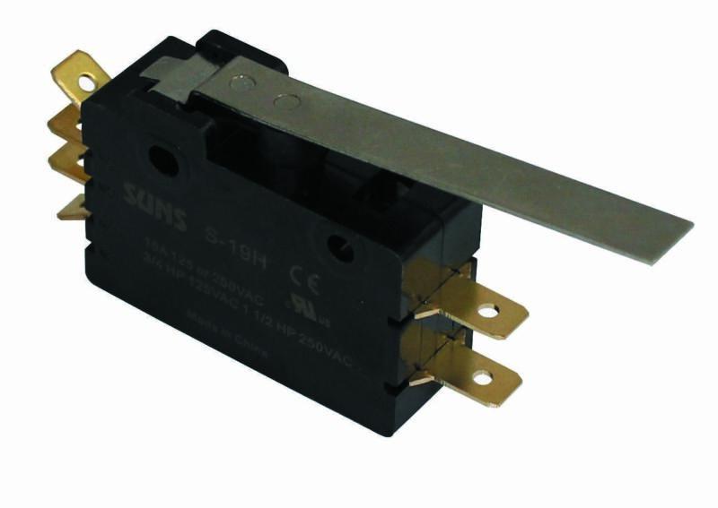 SUNS S-19H Hinge Lever Snap Action 15A Micro Switch E19-00H E1900H E19-50H