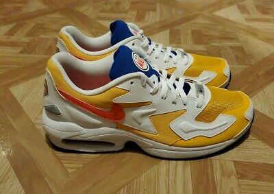 Nike Air Max 2 Light AO1741-700 Men's 11 White/Gold/Blue/Red