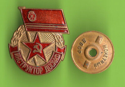 "RUSSIA The ""Instructor Of DOSAAF"" badge MEDAL 171"