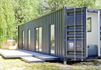 1 Bd1 Bth 320 Sq Ft Luxury Shipping Container Home