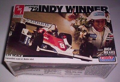 AMT Matchbox Penske '79 Indy Winner Gould Rick Mears 1:25 Scale Model Kit #3007