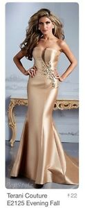 Terani Couture Prom or Grad Evening Gown-Size 0