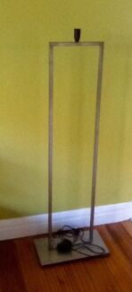 FLOOR LAMP STAND - INDUSTRIAL LOOKING. Suit large lampshade