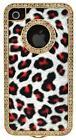 iPhone 4 Cheetah Bling Case