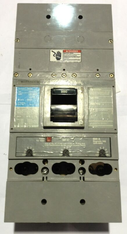 LMFC3M800 Siemens ITE Type LMFC Circuit Breaker 3 Pole 800 Amp 220/240V
