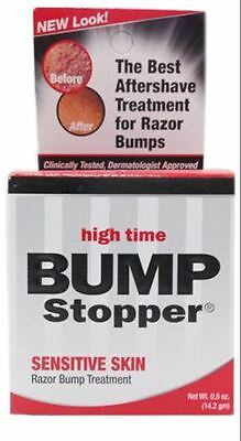 High Time Bump Stopper Sensitive Skin Razor Bump Treatment, 0.5 oz