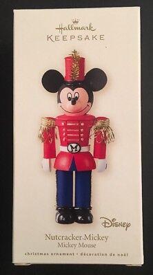 Hallmark Ornament: NUTCRACKER MICKEY - Disney Mickey Mouse - Dated 2008 - Mouse Dated Ornament