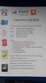 First aid life saving course
