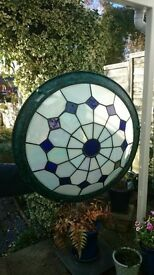 Tiffany style lampshade