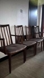 g plan vintage chairs