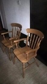 pair of lovely kitchen chairs