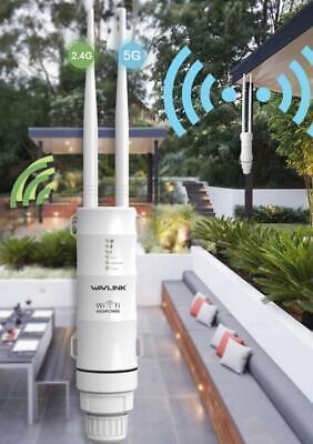 2.4GHz+5GHz Wifi Amplificatore di senza fili rete segnale da esterno ripetitore