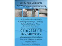 Driveway Cleaning / Cleaned Jet Washed Pressure Washing Service Leicester Leicestershire