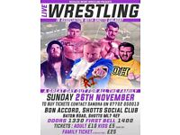 Live family-friendly Wrestling In Shotts