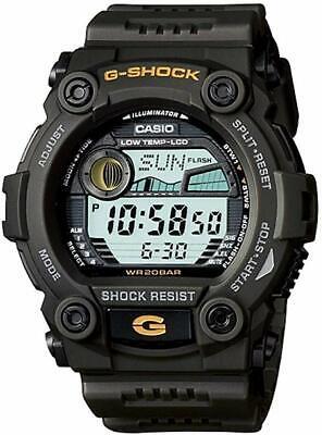 BRAND NEW Casio Men's G-7900-3DR G-Shock Green Resin Digital Dial Watch