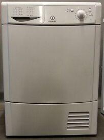 Indesit condenser Dryer IDC75/FS19755, 3 month warranty, delivery available in Devon/Cornwall