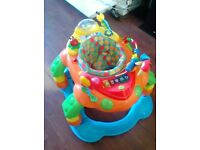 Baby walker Only 10 pound ( Needs Batteries ) Good condition , works perfect No Holding