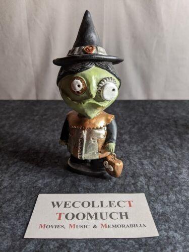 Janell Berryman Pumpkinseeds Halloween Steampunk Folk Art Figure