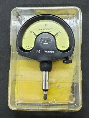 Mahr Millimess Dial Comparator Indicator .00005 674620