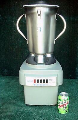 Waring Commercial Lab Blender 38bl52  Lbc10 4 Liter Capacity 3 Hp