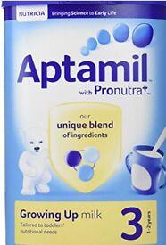 2x aptamil stage 3