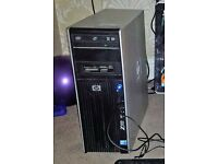 HP Z400 WORKSTATION PC, INTEL XEON, 6GB RAM, 500GB HDD, NVIDIA QUADRO GRAPHICS