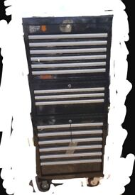 Halfords Industrial 3 Piece Tool Box Chest **BRAND NEW**